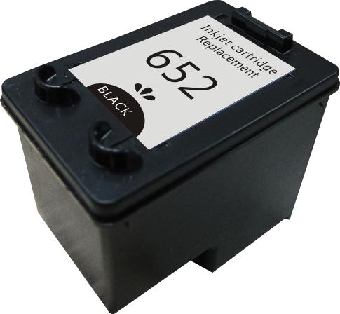 Картридж MicroJet для HP DJ 1115/4675 аналог HP №652 (F6V25AE) Black (HC-M652B)