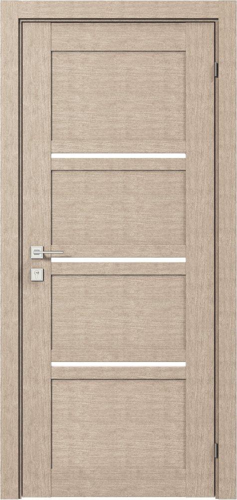 Дверь межкомнатная Rodos Quadro полустекло