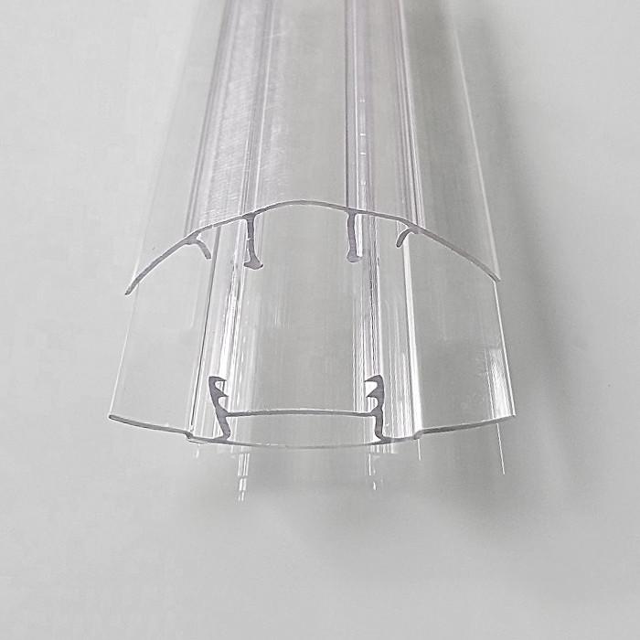 Профиль поликарбонатный прозрачный 6-10мм БАЗА 6м