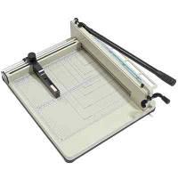 Резак YG-05 (858) формат A3, гильотина для бумаги ручная, длина реза 440 мм, толщина стопы 35 мм, зажим ручной