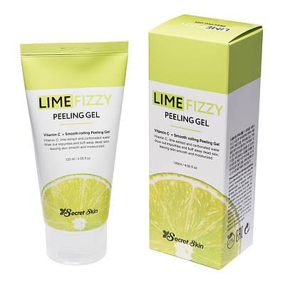 Пілінг-скатка з екстрактом лайма і вітаміном С Secret Skin Lime Fizzy Peeling Gel 120ml