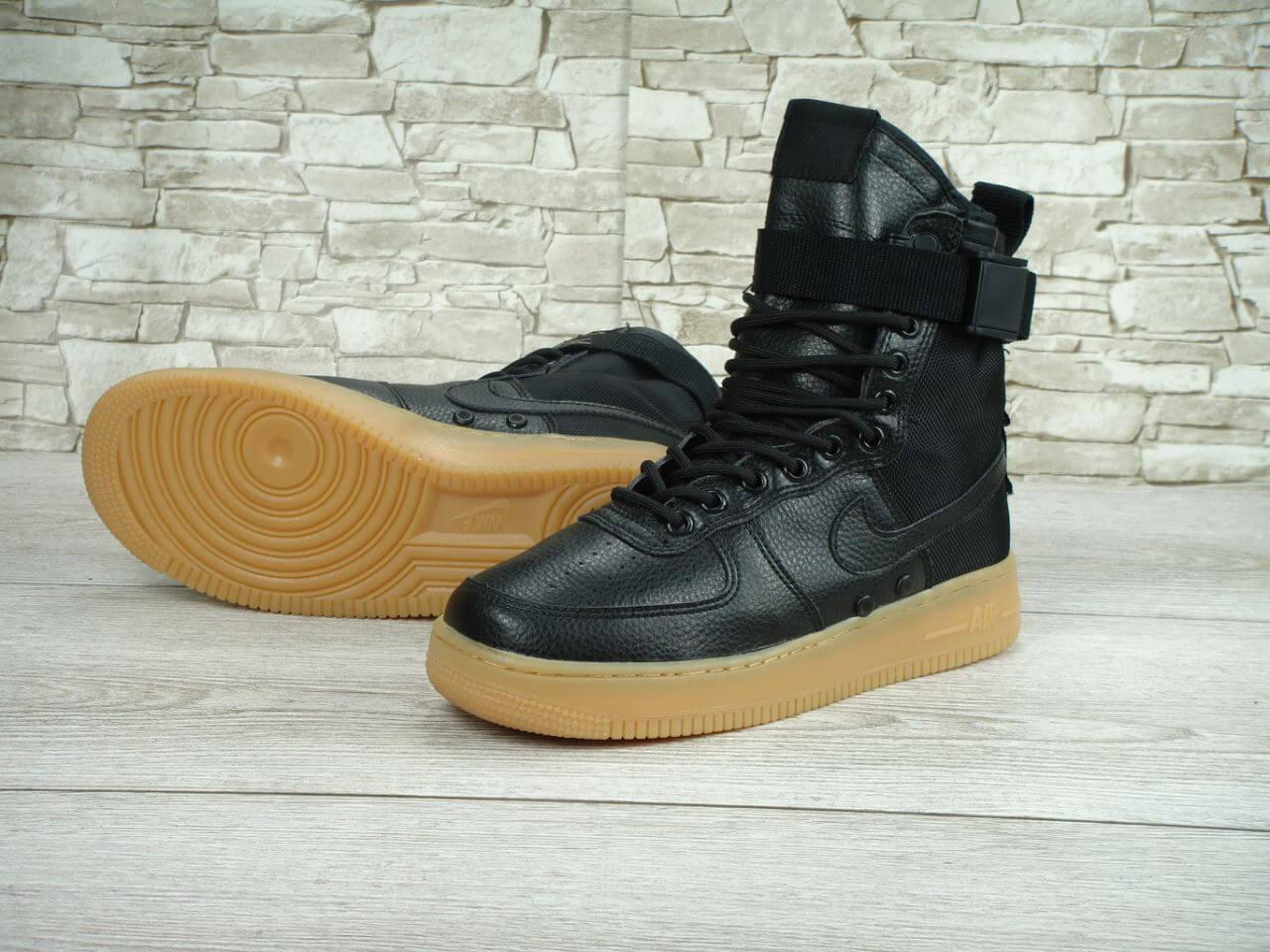 Мужские кроссовки nike Nike Special Field Air Force 1 Black