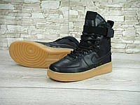 Мужские кроссовки nike Nike Special Field Air Force 1 Black, фото 1