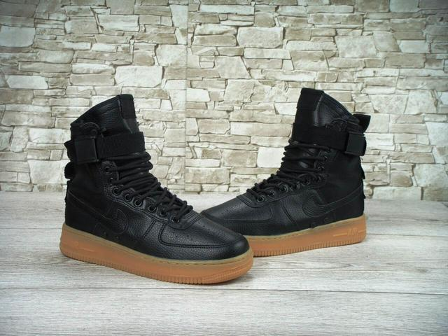 Кроссовки Nike Special Field Air Force 1 Black фото