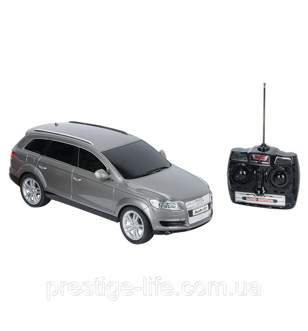 Автомобиль на радиоуправлении GK Audi-Q7 - 38*12см. 866-1201B Серый