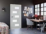 Дверь межкомнатная Rodos Verona полустекло, фото 5