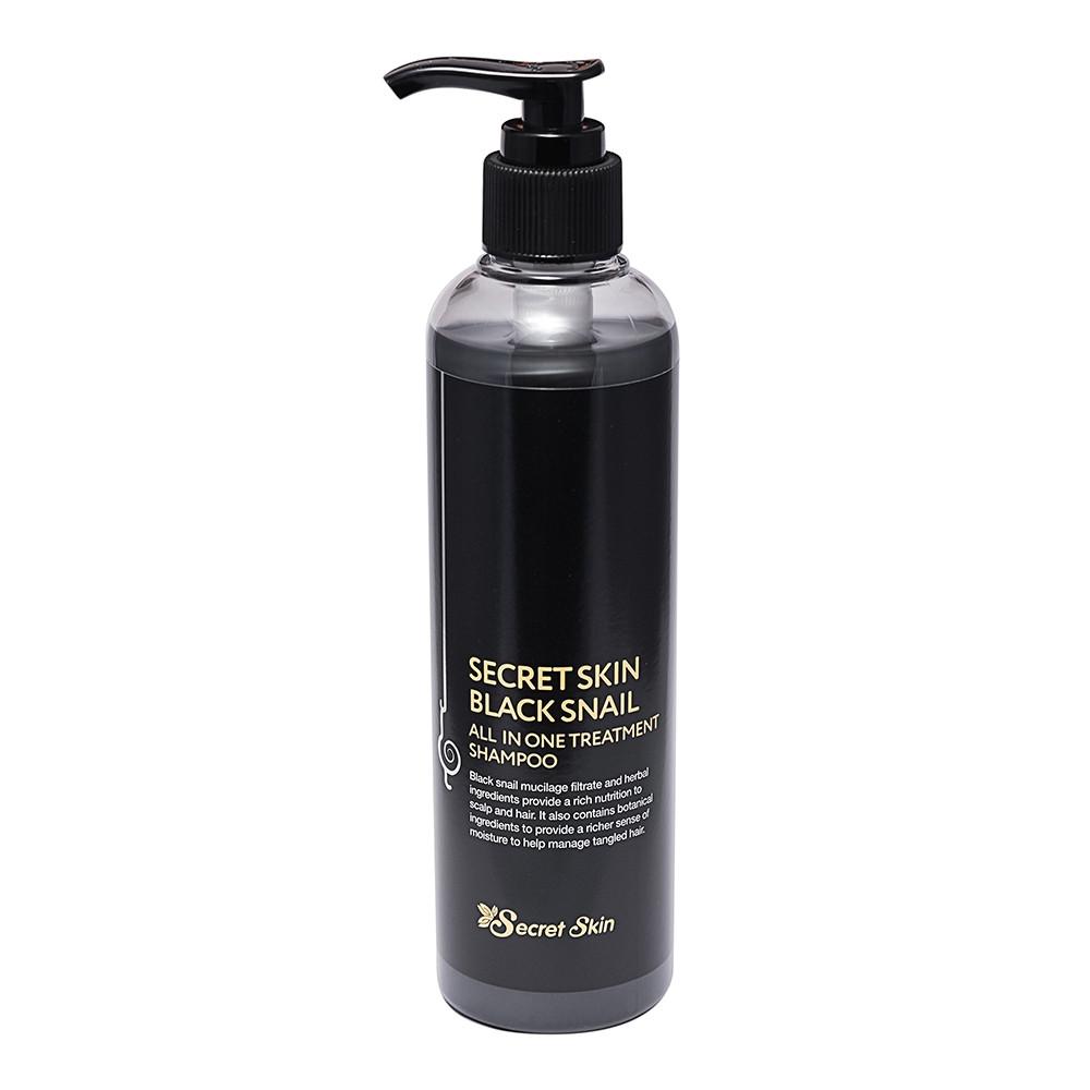 Шампунь-Бальзам для волосся з муцином чорної равлики Secret Skin Black Snail All In One Treatment Shampoo 250ml