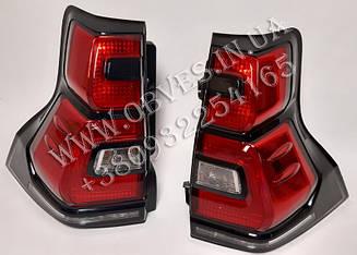 Задні ліхтарі Toyota Land Cruiser Prado 150 стиль 2017+