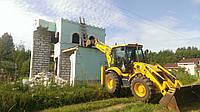 Демонтаж старых построек.Уборка и устройство придомовой территории