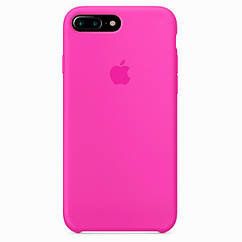 Чехол накладка Silicone Case для iPhone 7 Plus/8 Plus - Barbie Pink