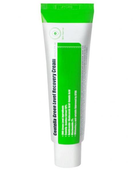 Успокаивающий крем для восстановления кожи с центеллой PURITO Centella Green Level Recovery Cream 50 мл.