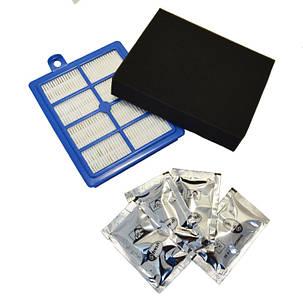 Набор фильтров USK11 (HEPA выходной и мотора) и ароматизатор для пылесоса Electrolux 9001677112, фото 2