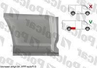 Крыло задн прав (р/к нижн до арки длин база) Mercedes Vito 639