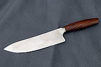Нож шеф ручной работы из австрийской порошковой стали m390