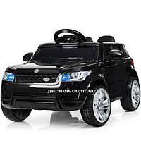Детский электромобиль M 3402 EBLR-2 с мягким сиденьем, черный