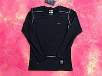 Термо-кофта Nike Pro Combat Core Compression/термобелье/мужская термо одежда ,одежда спортивная мужская