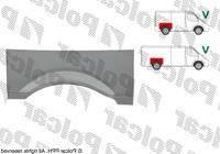 Крыло задн прав (р/к верхн коротк/длин база) Mercedes Vito 639