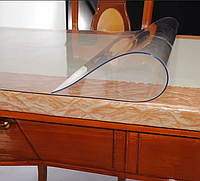 Мягкое стекло на стол (защита на стол) скатерть силиконовая