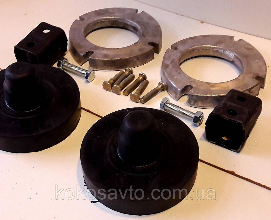Проставки Дэу Ланос Сенс Daewoo Lanos Sens для увеличения клиренса комплект задних и передних проставок