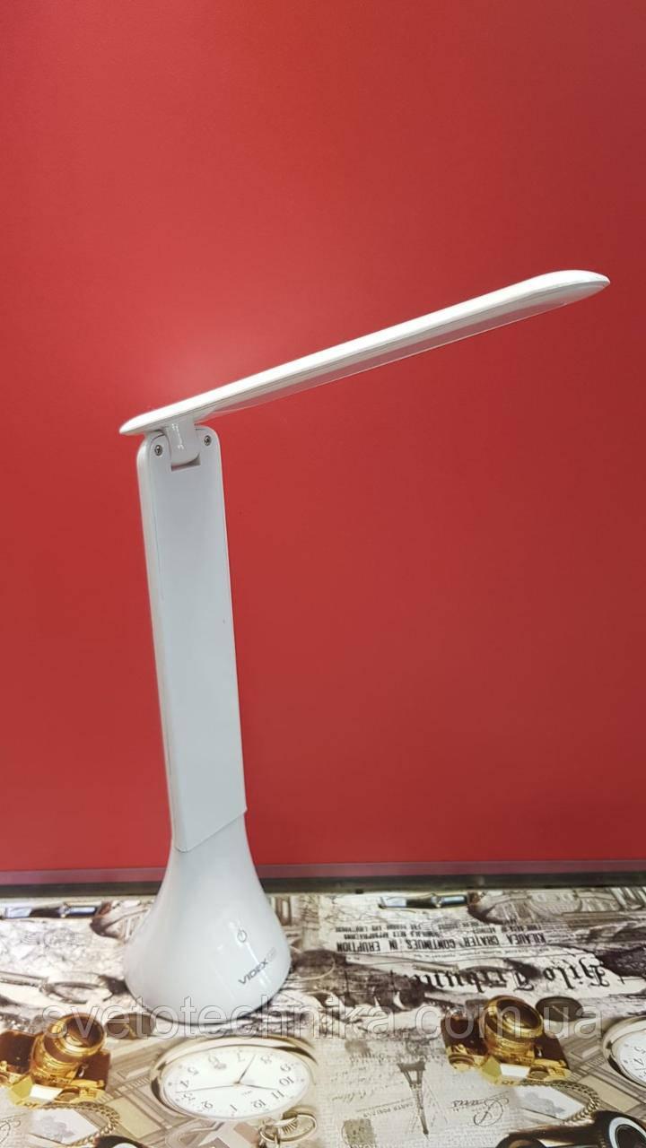 Светодиодная аккумуляторная настольная лампа VL-TF01W 3,5W 4100K 5V