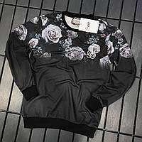 Мужской свитшот Sik Silk Black flowers