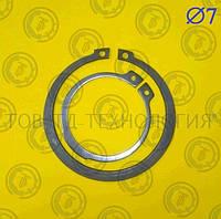 Кольцо стопорное наружное DIN471 Ф7,