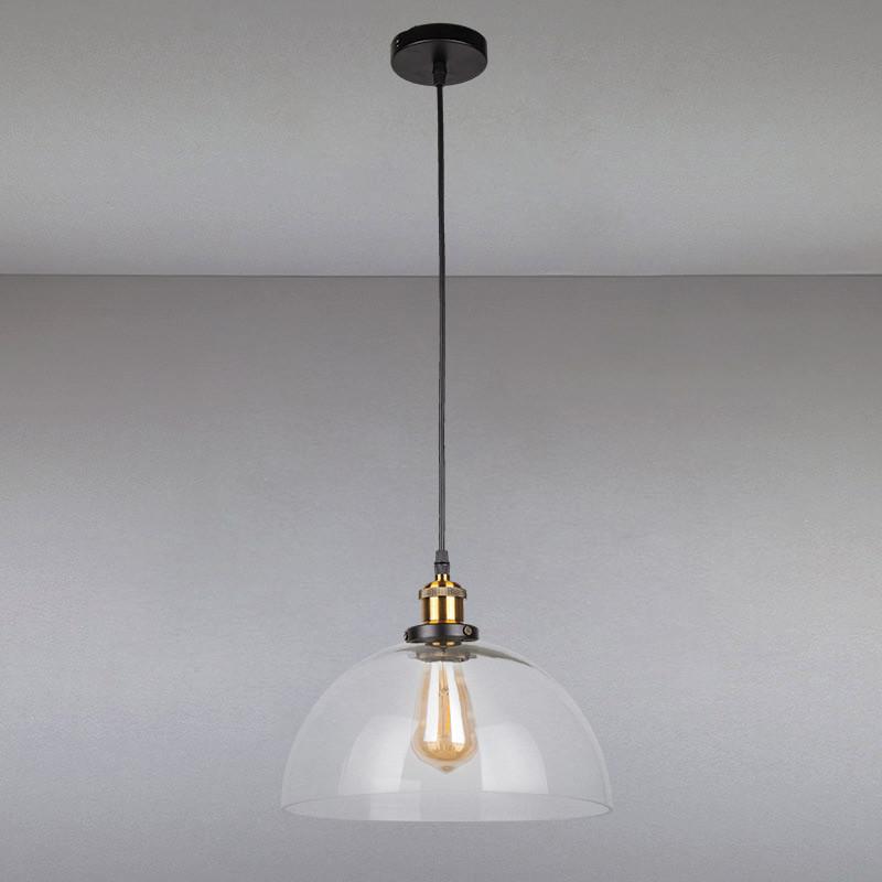 Люстра подвесная на одну лампу  LS-814025/1 CL