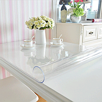 Мягкое стекло (защита на стол) силиконовая скатерть