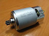 Двигатель аккумуляторного шуруповерта 12В шестерня 8 мм 9 зубов