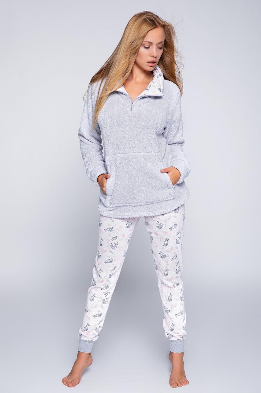 Тепла жіноча піжама у молодіжному стилі SENSIS Szop L
