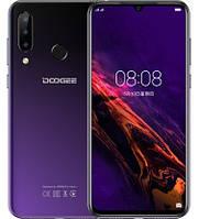 Смартфон Doogee N20 4/64Gb Purple, 16+8+8/16Мп, Helio P23, 8 ядер, 2sim, экран 6.3'' IPS, 4350mAh, 4G