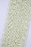 Нитяные шторы кисея Дождь Молочный (203), фото 1