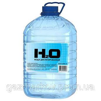 Вода дистиллированная (5 лтр.) ПЭТ