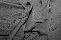 Черный цвет. С начесом.  Ткань вискоза трикотажная стрейчевая  (1,50м), фото 1