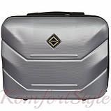 Комплект чемодан и кейс Bonro 2019 большой серебряный (10501202), фото 5