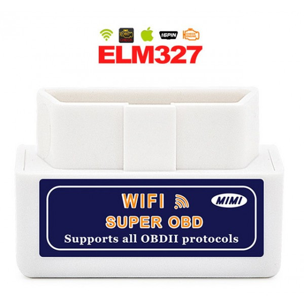 Диагностический адаптер-сканер OBD ELM327 Wifi IOS Android 1.5v OBDII вайфай елм327
