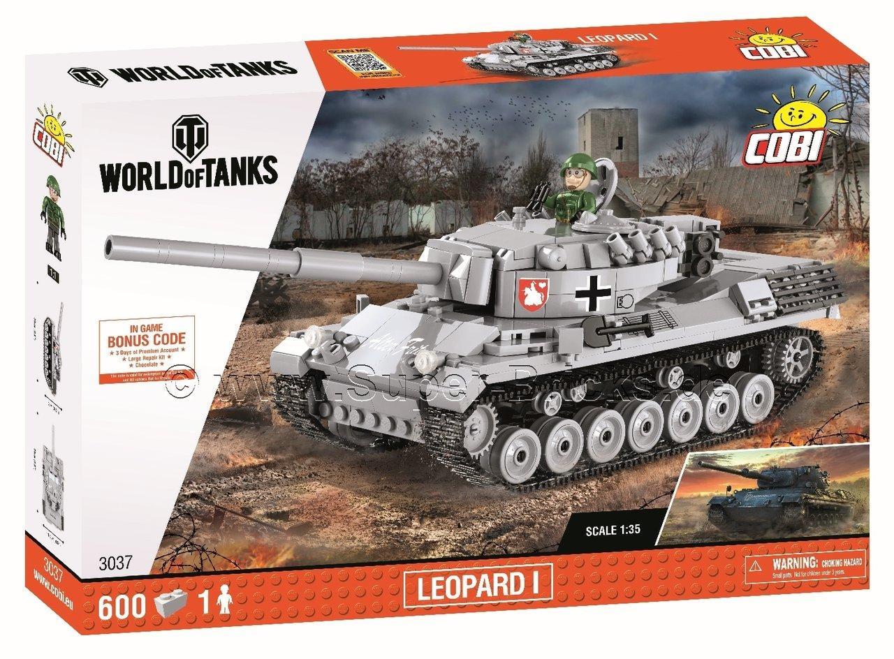 Конструктор Танк Леопард I COBI World Of Tanks (COBI-3037)