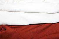 С начесом.  Ткань вискоза трикотажная стрейчевая, молоко ( теплые водолазки) (1,50м)