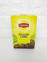 Чай черный байховый листовой Lipton Yellow Label 80 г, фото 1