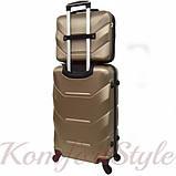 Комплект чемодан и кейс Bonro 2019 большой шампань (10501208), фото 2