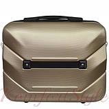 Комплект чемодан и кейс Bonro 2019 большой шампань (10501208), фото 4