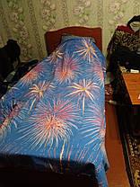 Двуспальный Евро комплект постельного белья, фото 2