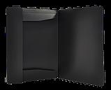 Папка пласт. А4 на гумках, JOBMAX, чорний, фото 2