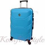 Комплект чемодан и кейс Bonro 2019 маленький голубой (10501003), фото 3