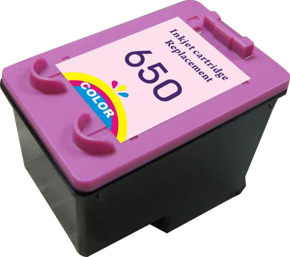 Картридж MicroJet для HP DJ 1015/4515 аналог HP №650 (CZ102AE) Color (HC-J650C)