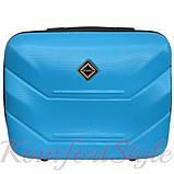 Комплект чемодан и кейс Bonro 2019 маленький голубой (10501003), фото 6
