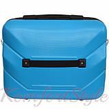 Комплект чемодан и кейс Bonro 2019 маленький голубой (10501003), фото 7