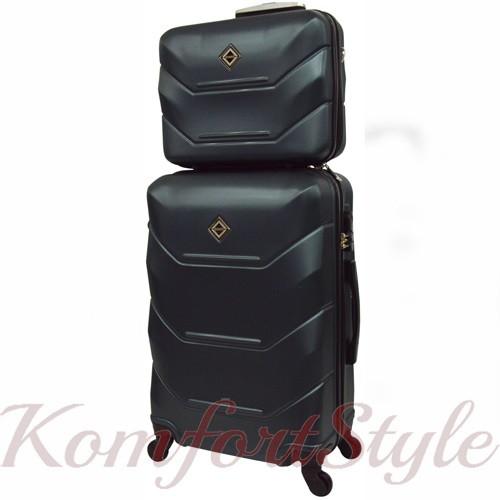 Комплект чемодан и кейс Bonro 2019 маленький изумрудный (10501009)