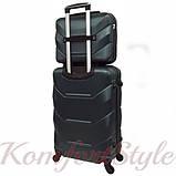 Комплект чемодан и кейс Bonro 2019 маленький изумрудный (10501009), фото 2