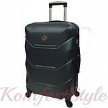 Комплект чемодан и кейс Bonro 2019 маленький изумрудный (10501009), фото 3